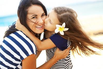 foto mama en dochter